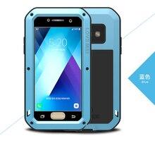 A5 2017 A520F LOVE MEI сверхмощный чехол для samsung Galaxy A5 (2017) Чехлы для мобильных телефонов с закаленным стеклом