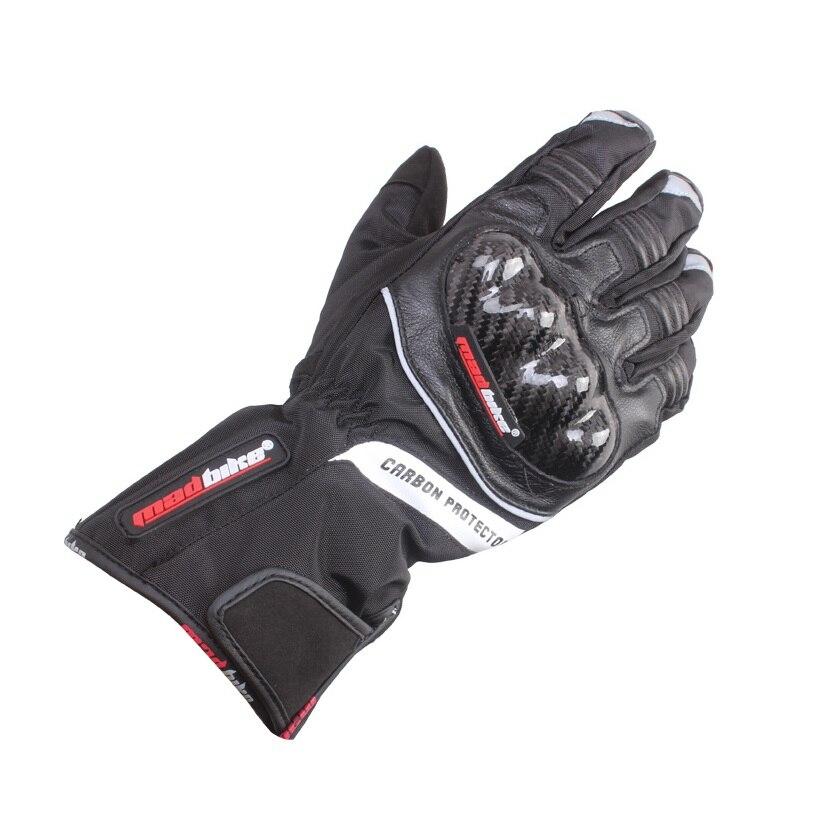 Genuine leather carbon fiber racing cross country motorcycle gloves waterproof Bike Glove