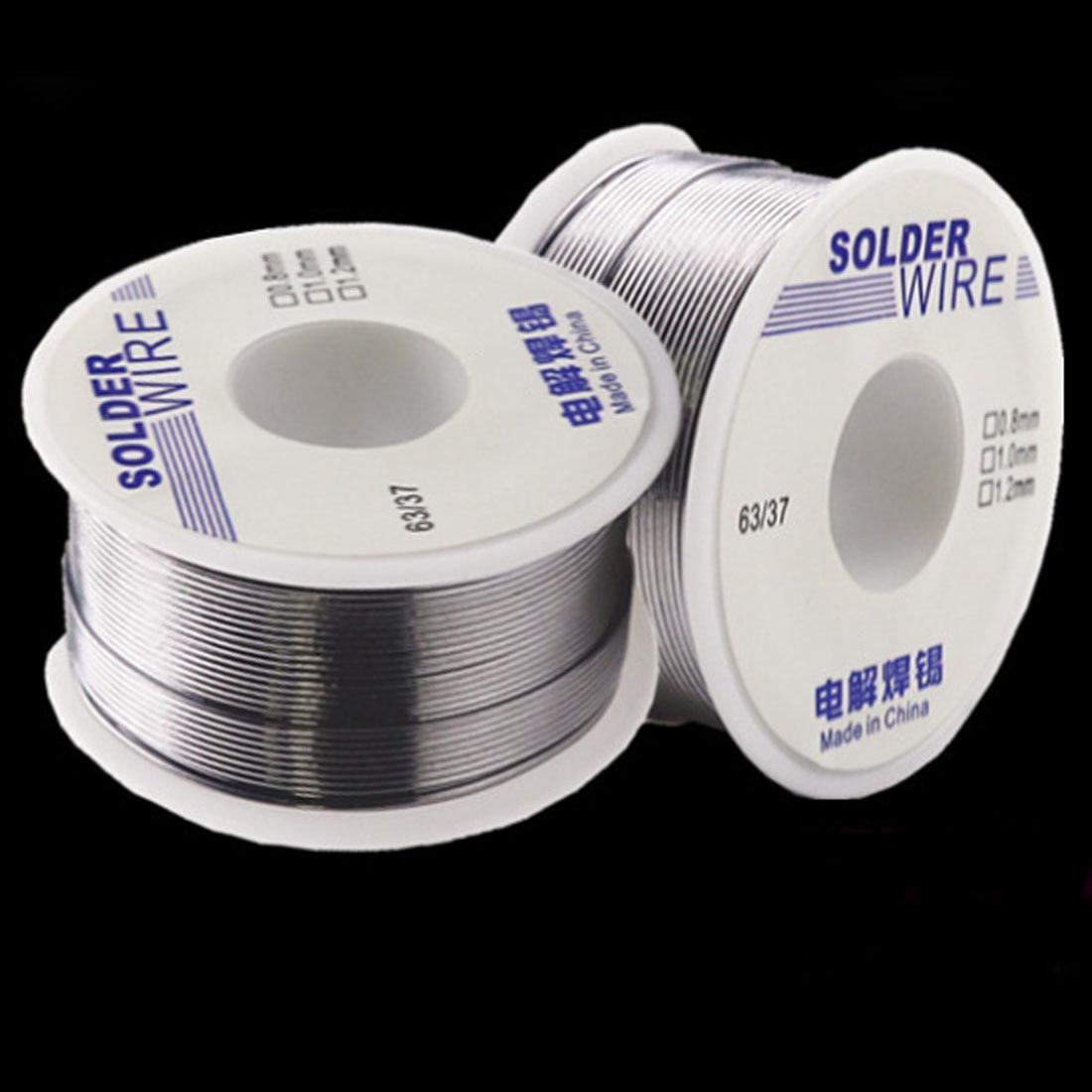 Solder Wire 6337 50g 1.0mm0.8mm 2.0-2.3 % Flux Rosin Core Weldring Tin Lead Clean Rosin Core Welding Tin Lead Solder