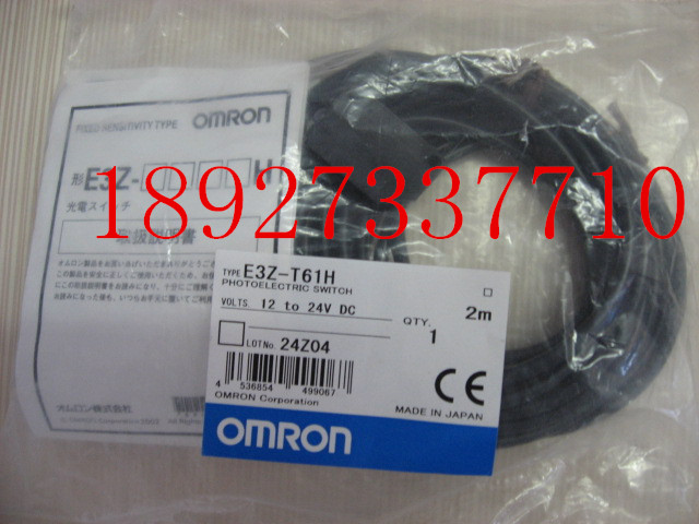 [ZOB] Supply of new original OMRON Omron photoelectric switch E3Z-T61H 2M factory outlets [zob] 100% new original omron omron photoelectric switch e3s vs1e4 e3zm v61 2m substitute