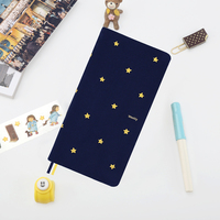 Kinbor Kawaii Stars Student's A5/A6 Notebook Travel Journal Diary Weekly Planner Notepad Agenda School Office Supplies