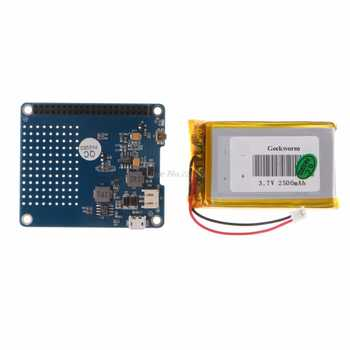 UPS HAT Board Module 2500mAh Lithium Battery For Raspberry Pi 3 Model B/Pi 2B/B+/A+ Dropship