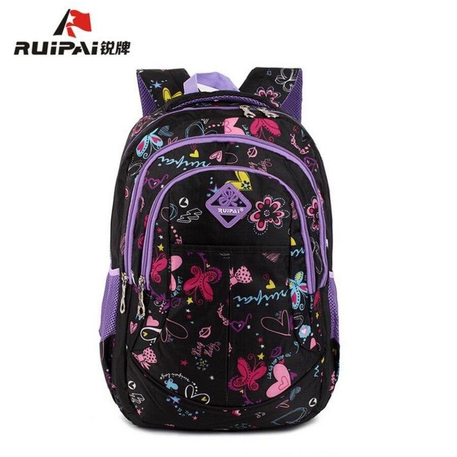 Ruipai Flower Backpack School Satchel Children School Bags Orthopedic Backpacks Girls School Backpacks ,Mochila Infant