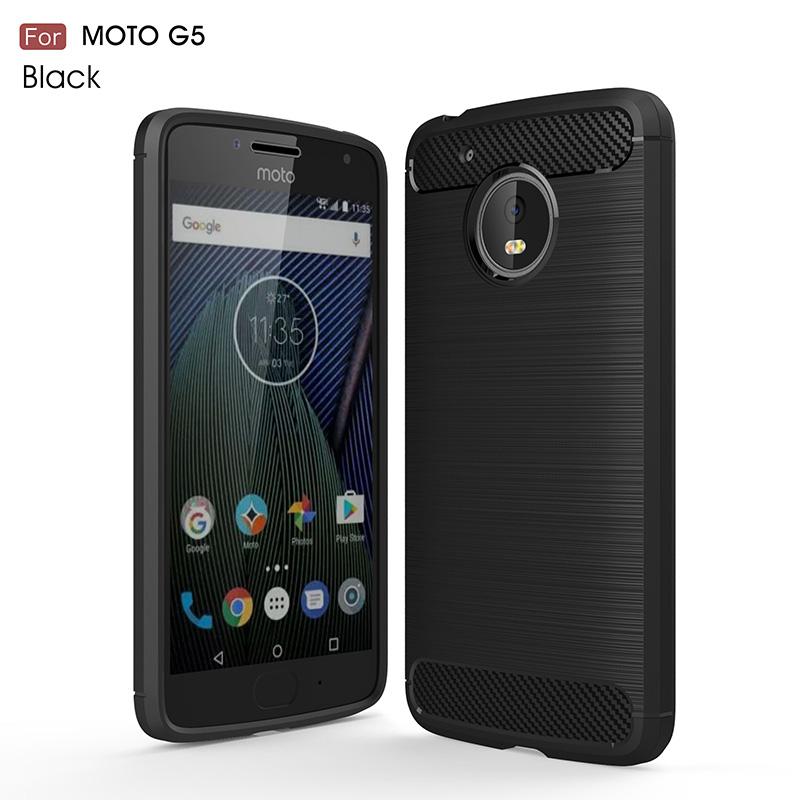 carbon fiber tpu case moto g5 (13)