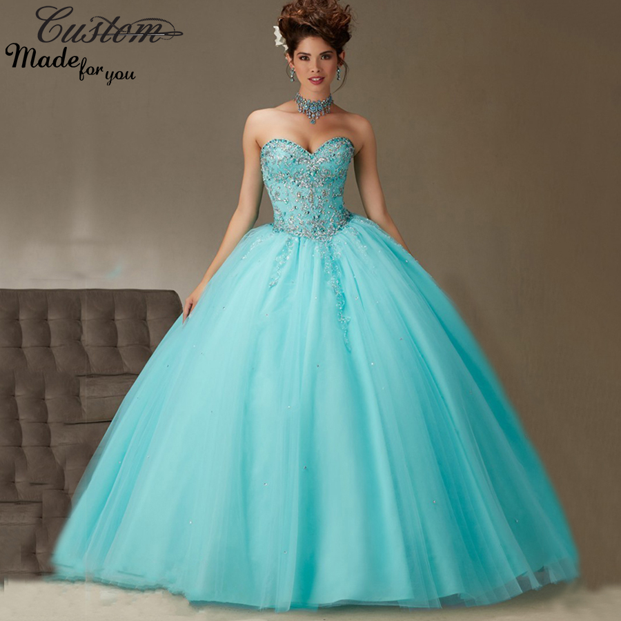 Blue Masquerade Dresses for Sell