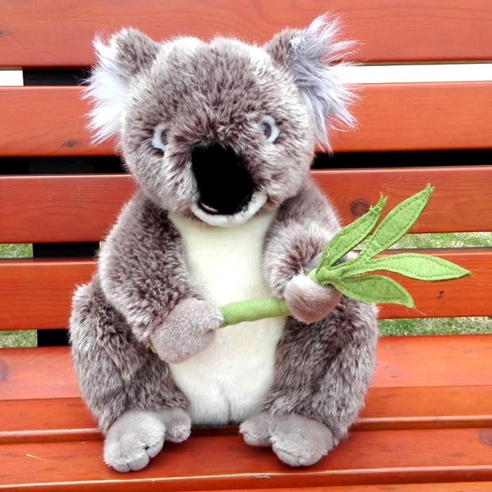 Big Koala Doll Toy Simulation Plush Animals  Stuffed Children'S Toys Gifts Pillow  Koalas plush wildlife animals simulation simulation bulldog doll stuffed toy gifts