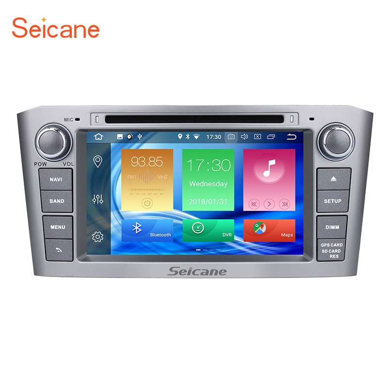 Seicane Android 8 0 7 Inch font b Multimedia b font Player HD 1080P Video Wifi