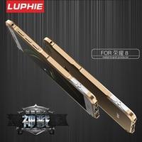 Huawei Honor 8 Hard Armor Case Original LUPHIE Screwless Rotary Switch Metal Aluminum Bumper Phone Case