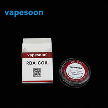 10m/roll 30 feet Clapton Heating Wire for RDA RBA Rebuildable DIY Atomizer Ttank Coil Electronic Cigarette Vaporizer Coil