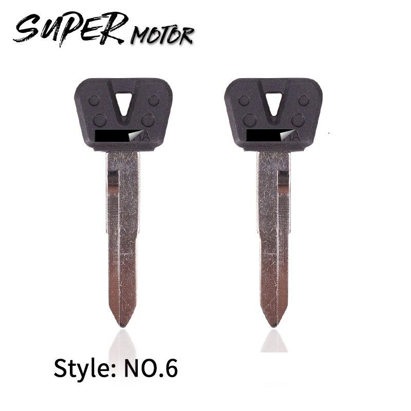 Motorcycle Blank Keys Uncut Blade For YAMAHA TDM850 TDM900 MT03 MT01 MT08 MT09 FZR250 FZR400 XJR400 XJ6 XJR1200 XJR1300 FJR1300