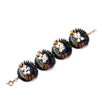 Charms Crystal New Design Jewelry Bead Pearl Stamens Bracelet Accessories Female