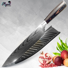 Kitchen Knife Chef 8 inch Stainless Steel Knives Meat Santoku Japanese 7CR17 440C High Carbon Knife