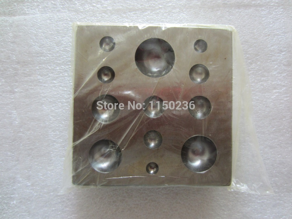 free shipping bell making Square Dapping Block For Jewelry, dapping punch tool,Jewelry tool,Goldsmith mold tools Lapidary tools телевизор sharp lc 65cug8052e