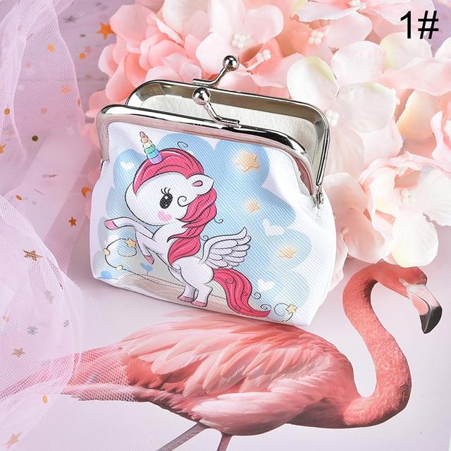 Unicorn Flamingo Coin Purse