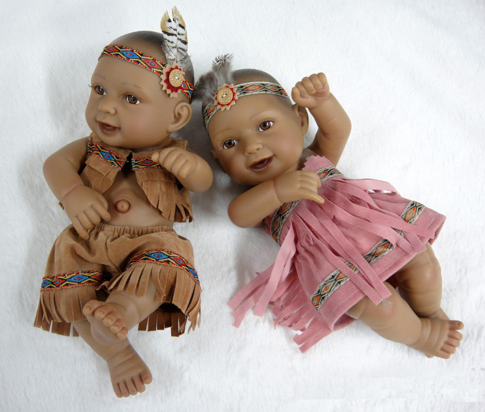Native American Indian Doll 11 Quot Boy And Girl Lifelike