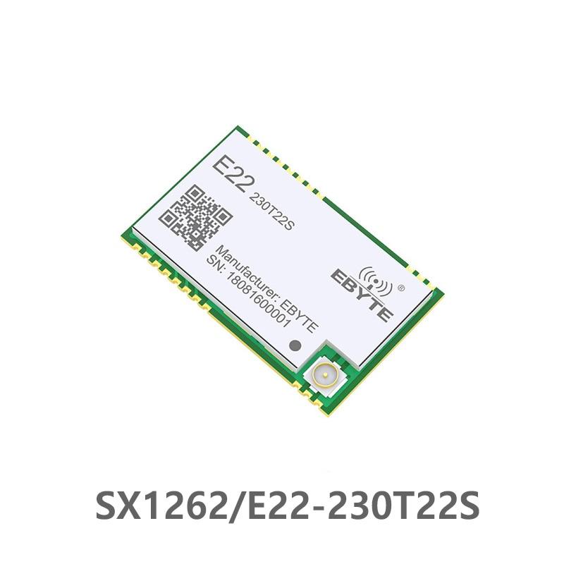 E22-230T22S SX1262 TCXO UART Wireless Module 220-236MHz Transceiver 230Mhz IoT SMD IPEX Interface
