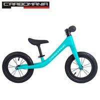 2019 детский велосипед из углеродного волокна 12 дюймов детский двухколесный велосипед беспедальный детский велосипед подходит для детей от