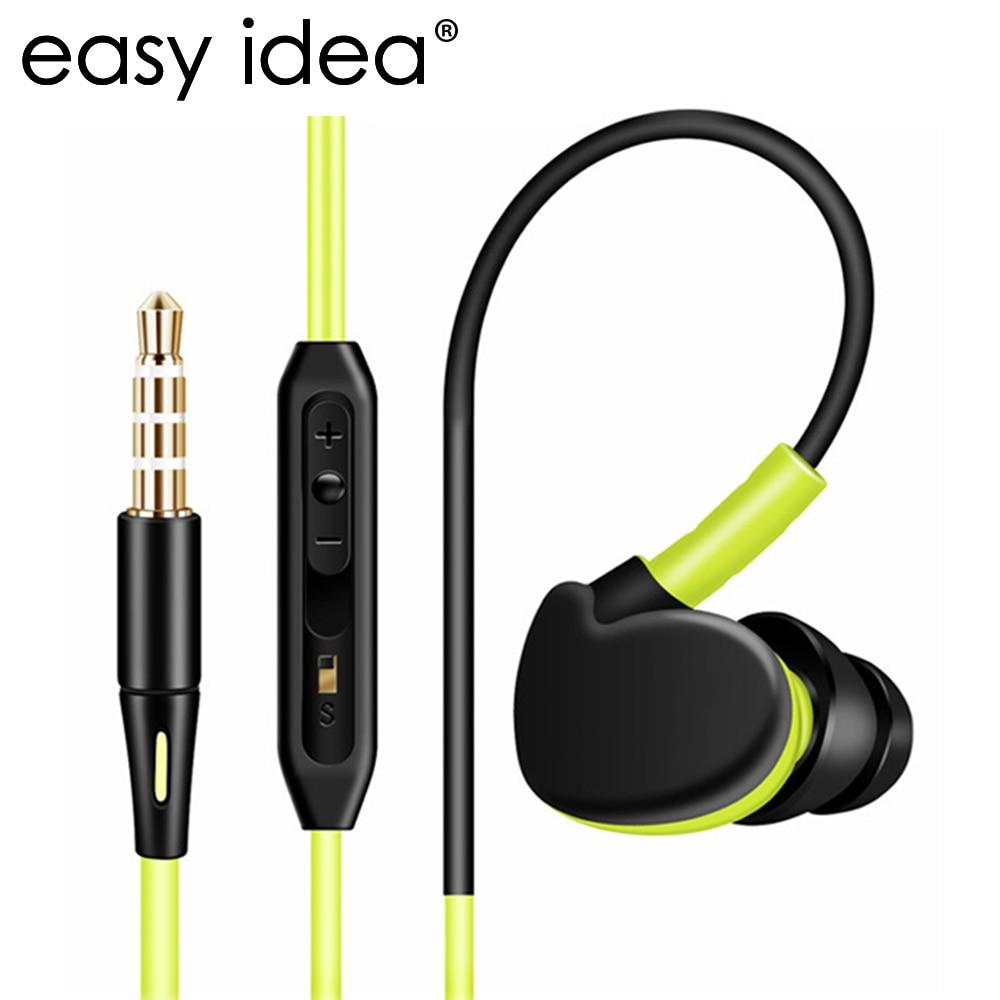 Sport Headphones Running Waterproof Earphone Headphones Sweatproof Stereo Super Bass Subwoofer Headset With Mic For All