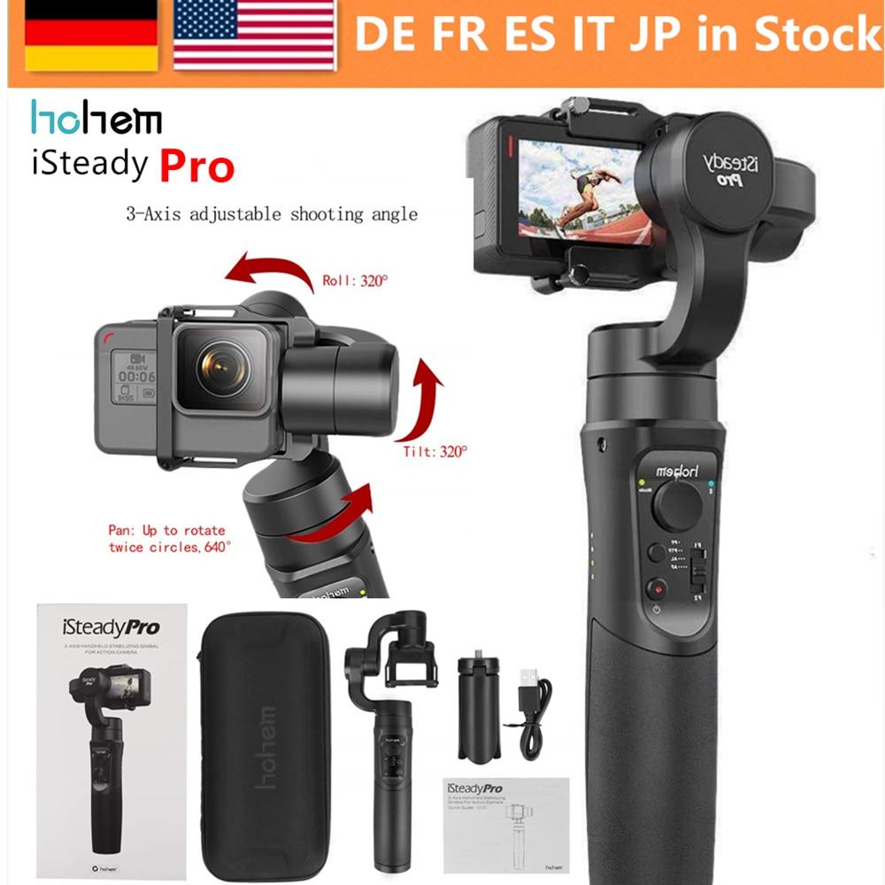 Hohem iSteady Pro 3 ejes cardán estabilizador para GoPro héroe 7 6 5 4 3 Yi 4 K cámara de Acción RXO AEE SJCAM 3-eje GoPro cardán