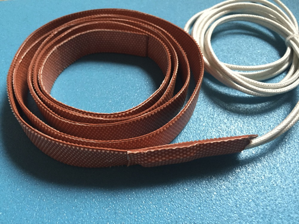 8mmx650m 100W 12V High quality flexible Silicone Heating belt heat tracing belt Silicone Rubber Pipe Heater waterproof flexible 15mm 4200mm 200w 220v silicone pipe heater tube heating tape heating belt silicone flexible heating band heaters pipe heat
