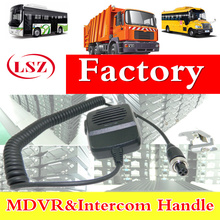 3G/4G car video recorder, butt handle, driver and CMSV6 platform intercom intercom handle factory
