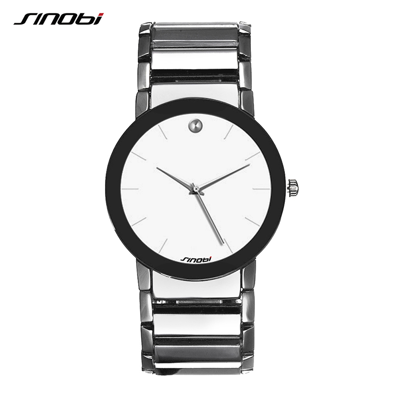 2018 Fashion Watches Men Luxury Brand SINOBI Waterproof Wrist Watches Mens Women Sports Business Quartz-watch Relogio Masculino adjustable wrist and forearm splint external fixed support wrist brace fixing orthosisfit for men and women