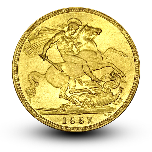 US $3 56 |1887 Great Britain Sovereign Brass Gold Coin Queen Victoria Coin  Replica Home Decoration Collectible Coin-in Non-currency Coins from Home &