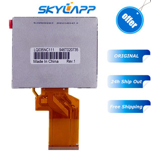 Original 3.5 inch HD TFT LCD display for Satlink WS-6906 WS 6906 Satellite Finder LQ035NC111 LQ035NC121 LCD Screen panel(China)