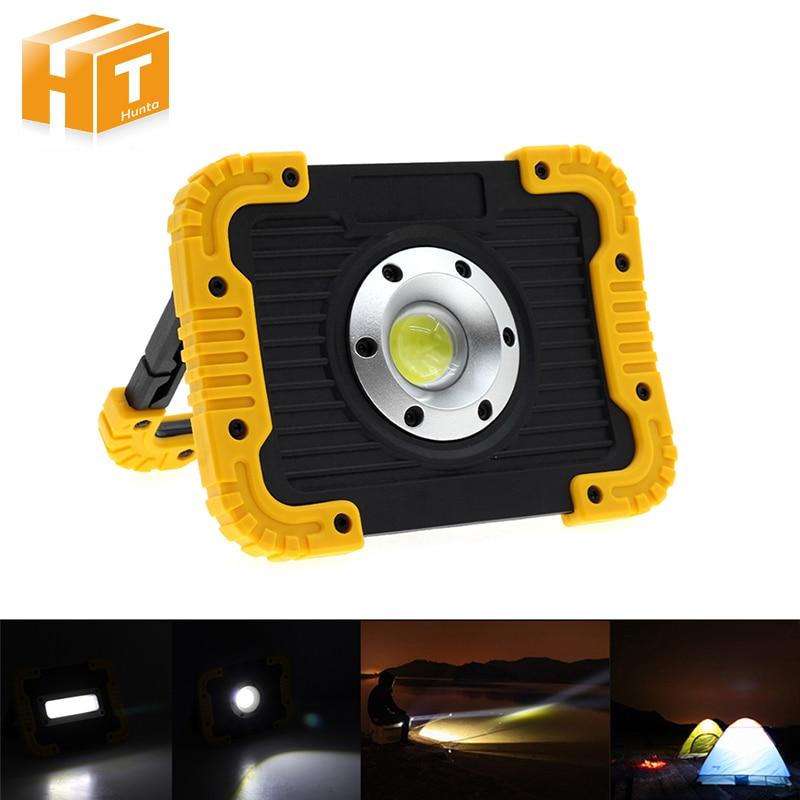 купить COB LED Floodlight Portable Lanterns Outdoor Waterproof IP65 Emergency Spotlight Lamp for Camping Hiking Tent Light по цене 1895.77 рублей