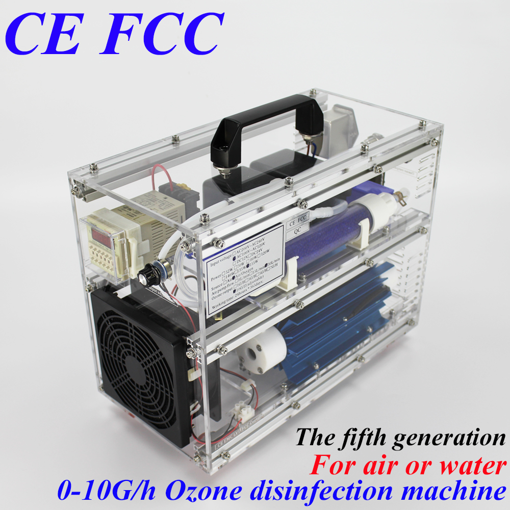 Pinuslongaeva CE EMC LVD FCC BO-1030QY 10g/h 10grams adjustable ozone machine for air or water ozone vegetable fruit sterilizer ce emc lvd fcc ozone fruit and vegetable washer