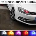 1 pcs Para volkswagen polo/jetta/passat b5 b6/golf 4 5 6/tiguan/CC/t10 w5w lâmpada LED Marcador lâmpadas Faróis do carro Luzes de Advertência