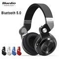 Oryginalny Bluedio T2S bluetooth słuchawki z mikrofonem bezprzewodowy zestaw słuchawkowy bluetooth dla Iphone Samsung Xiaomi słuchawki