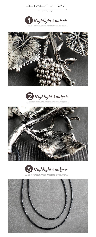 Z&R RETRO Women Pendant Necklace Fashion Charm Jewelry Vintage Rope Chain Ladies Elegant Necklace  Pendant Jewelry Accessories