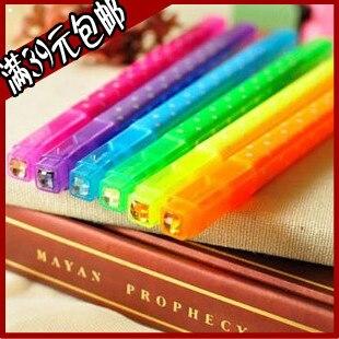 Diamond double slider neon pen marker pen marker pen multicolour diy photo album pen