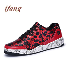 ifang 2017 fashion Flats men mixed color Loafers men's Footwear Flats Male Loafers shoes mans Flats Zapatos de los hombres