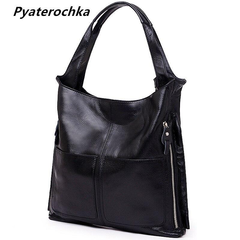 Genuine Leather Handbags Women Casual Tote Fashion Crossbody Bags High Quality Bag 2018 Ladies Casual Luxury
