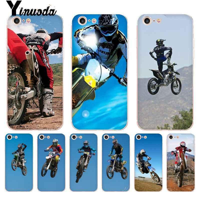 coque iphone 8 plus figure de moto cross