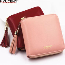 Popular Brand New Luxury Womens Wallet Purse Female Small wallet perse Portomonee portfolio lady short carteras 2018