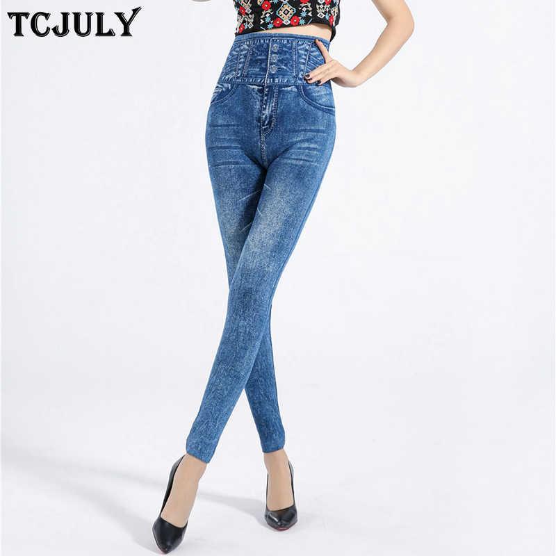6b4cb993622 TCJULY Wholesale Fashion Womens Leggings Pants Seamless Soft Skinny Push Up Jeans  Leggings High Waist Stretch
