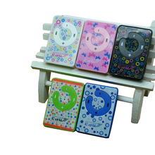Hot Worldwide Print Mini Clip MP3 Music Player with Micro TF/card Slot, 5 Colors Mini MP3 Player As For ipod
