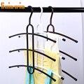 Sainwin 3 шт./лот металлические вешалки для одежды многофункциональная креативная сушилка для одежды многослойный волшебный шкаф для хранения ...