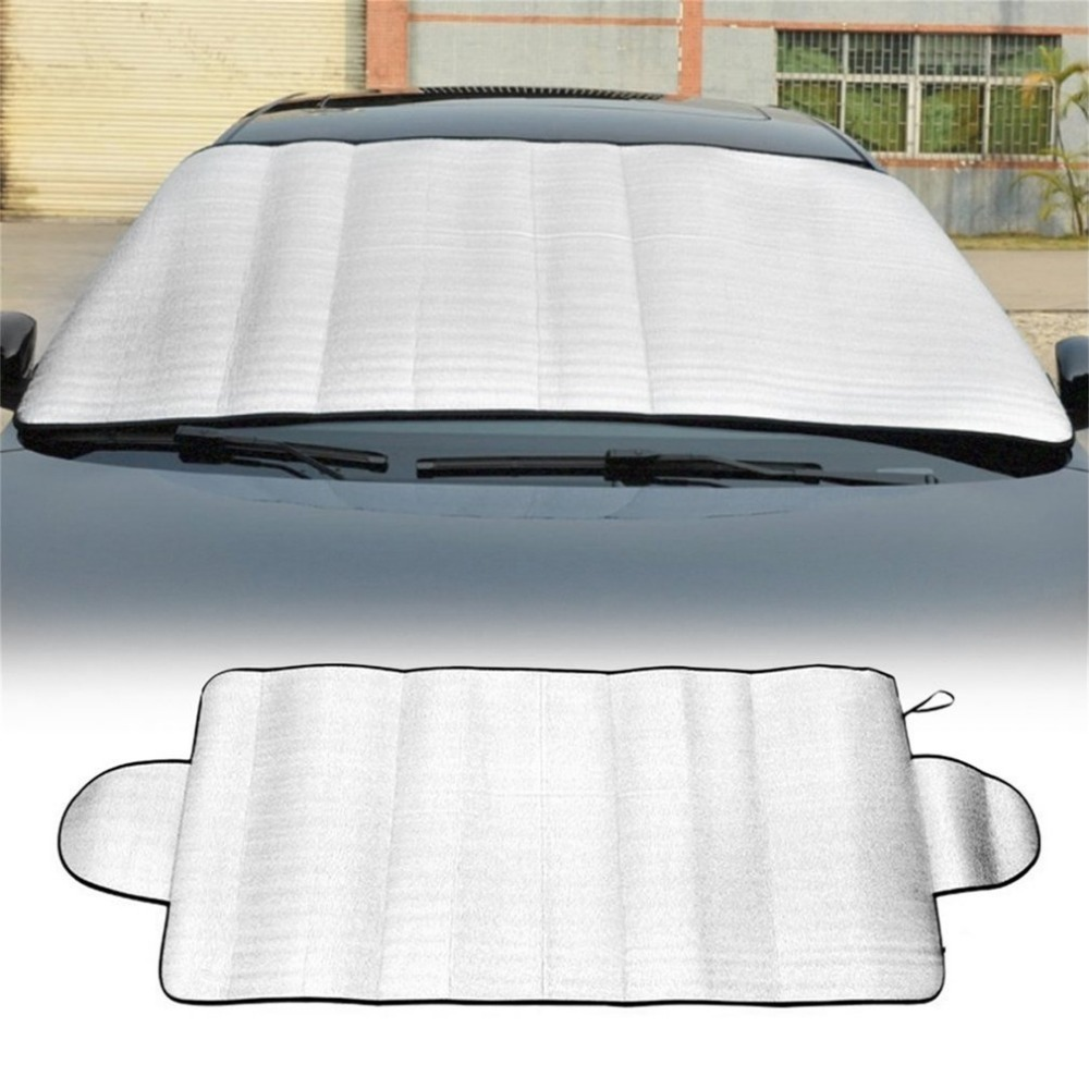 Durable Multipurpose Car Auto Windshield Cover Anti Shade Frost Ice Snow Protecting Cover UV Fading Dust Proof Cotton Car Covers