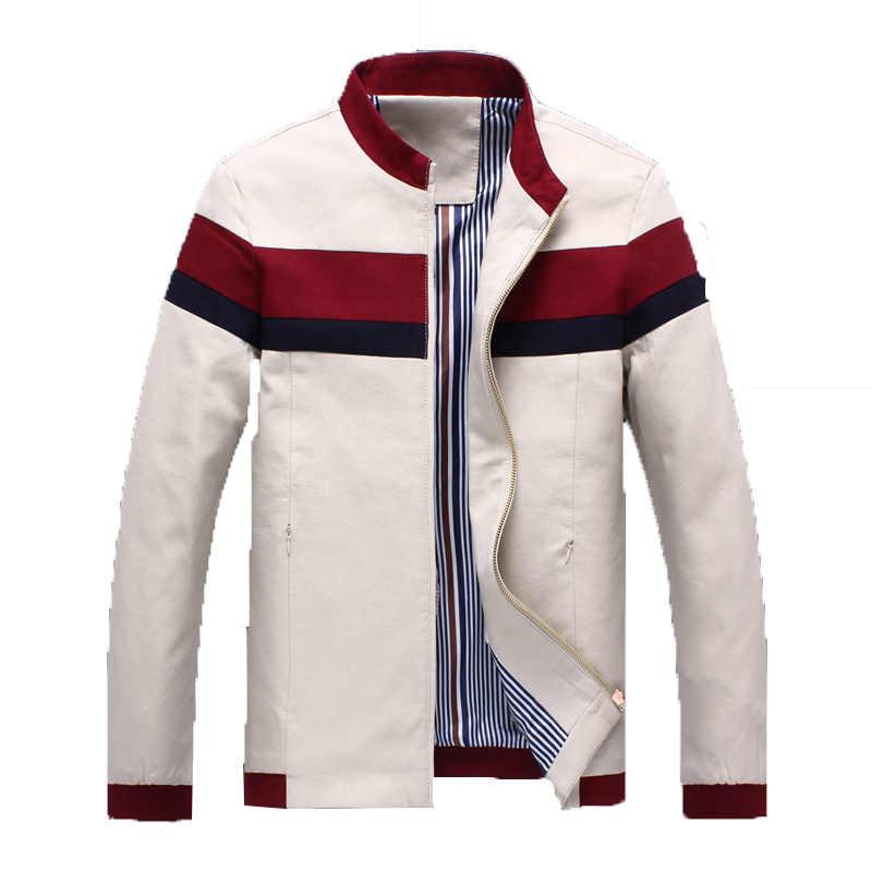 2019 новая весенняя куртка Для мужчин Slim Fit Для мужчин s дизайнерские куртки и пальто человек одежда Хлопок Для мужчин повседневная куртка