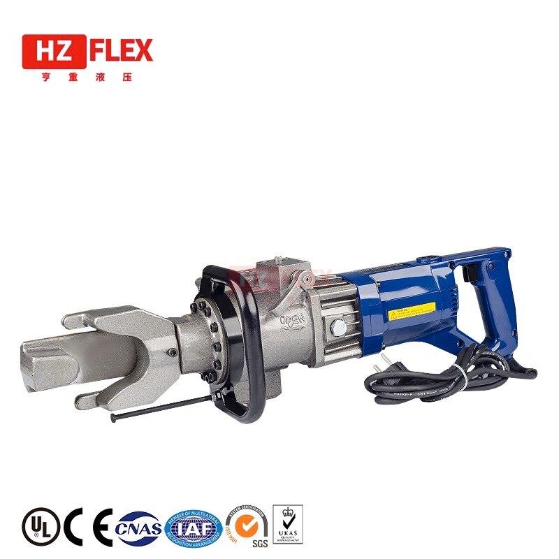 20mm Portable électrique en acier machine à cintrer hydraulique en acier barre de pliage redressage machine fil en acier cuivre