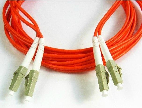 LC-LC multimode fiber cable 10 meters twin core optical fiber DM