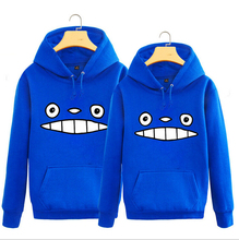 New Miyazaki Hayao hoodie Cute Totoro Cartoon Anime men hooded Fall and Winter Cotton Jacket Sweatshirt Coat