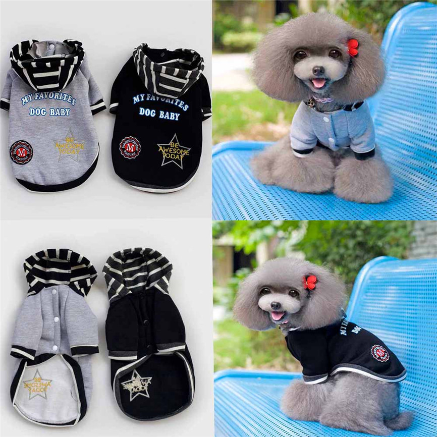 New Arrival Fashion Pet Clothes Autumn Winter Sweater With A Hat Lovely Clothing Costume Clothes Coat S~XXL 912