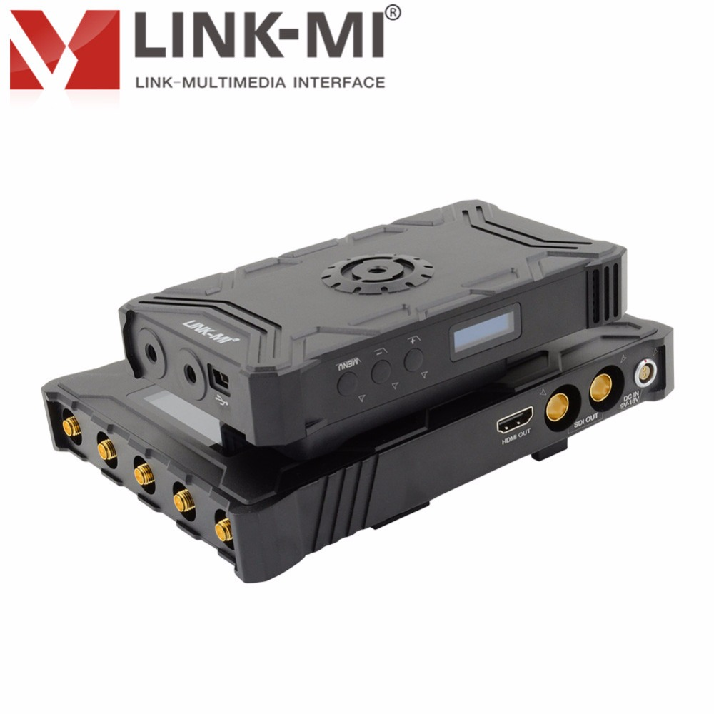 Wireless HD Video Link Transmission System Uncompressed 3G/HD/SD SDI wireless 3280FT line of sight 5GHz ISM band LM WX1000