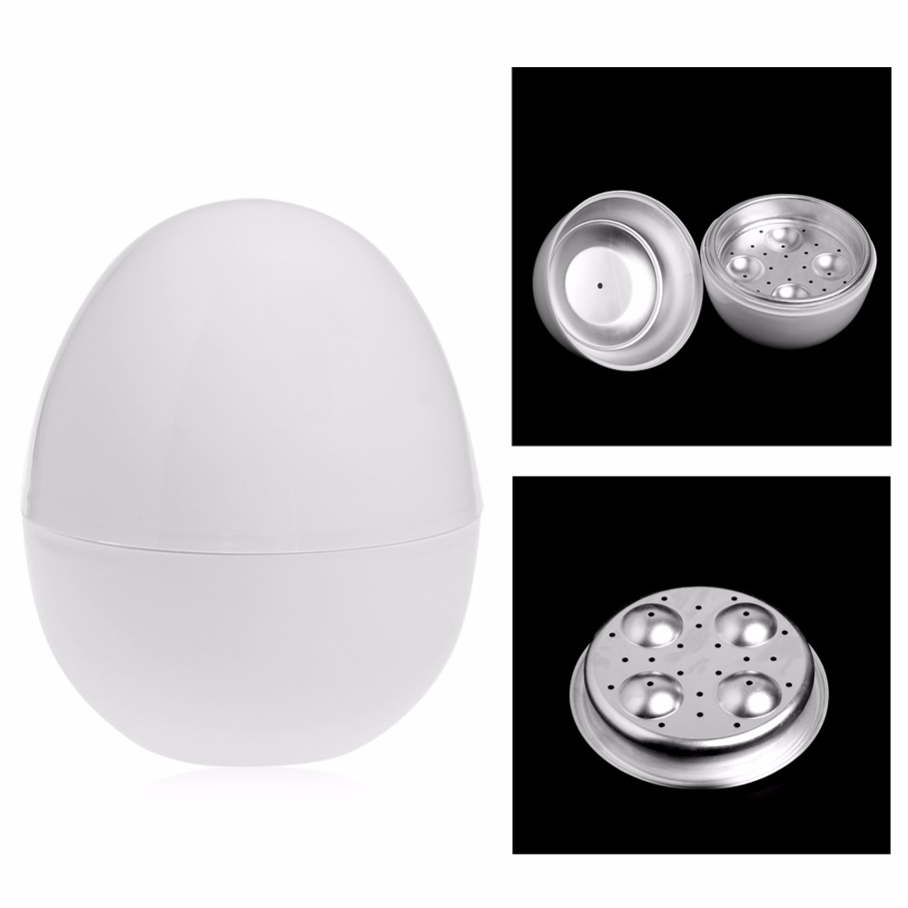 4 Eggs Boiler Cooker Novelty Kitchen Cooking Appliances Steamer ...