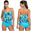 Съемные ремни женщин Комбинезон 2016 лето одежда для пляжа Tankini 2 шт. купальник боди LC41927